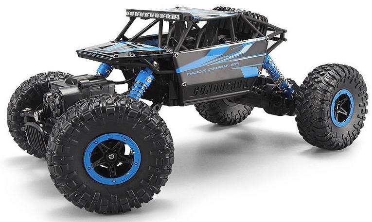 voiture t l command e tout terrain buggy 4x4 rock crawler monstertruck. Black Bedroom Furniture Sets. Home Design Ideas