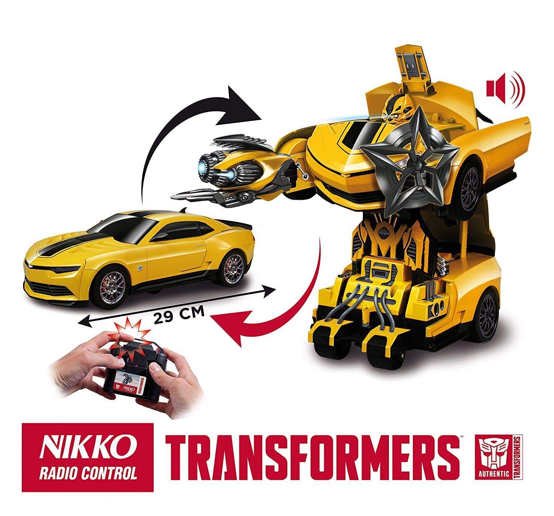 voiture t l command e nikko chevrolet camaro l chelle 1 16 transformers autobot voiture. Black Bedroom Furniture Sets. Home Design Ideas