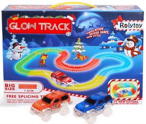 Test circuit de voiture magic glow track